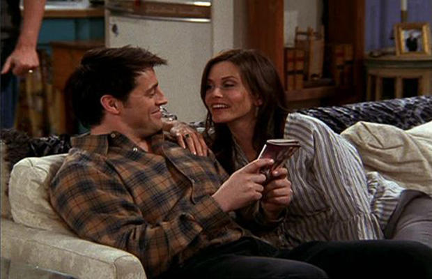 Ja, és Monica és Joey lett volna a sorozat szerelmespárja!