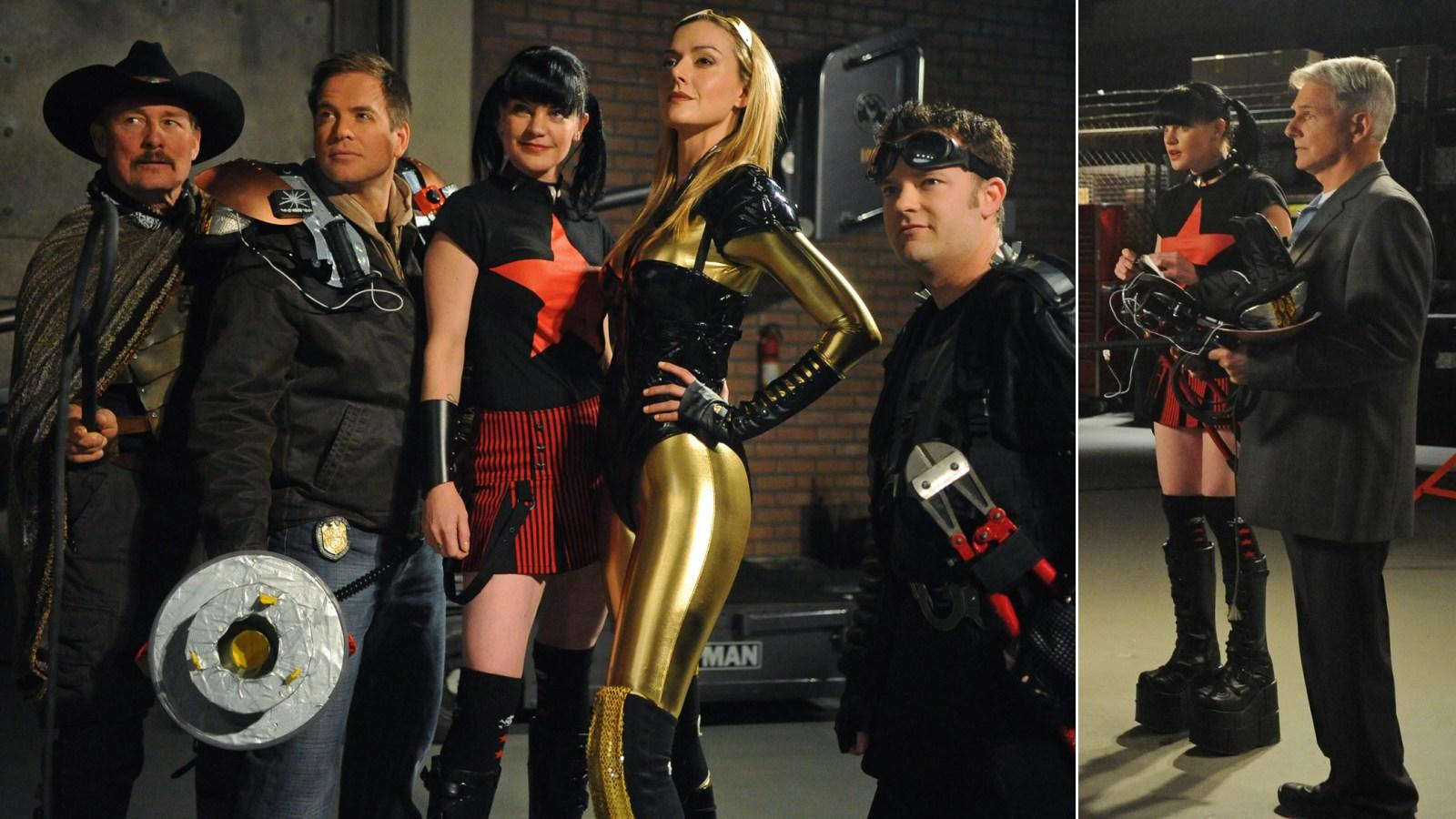 Szerencsére nem ő az egyetlen az NCIS-csapatból, aki szeret öltözködni, néha a többiek is felbuzdulnak a hölgy egyedi stílusán. Neked melyik a kedvenc Abby-cuccod? (CBS)