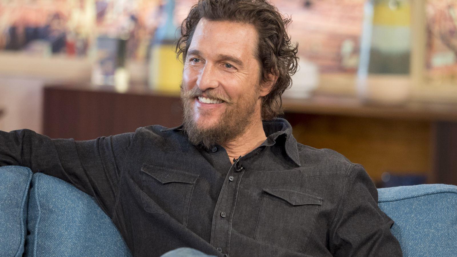 Matthew McConaughey saját bevallása szerint 20 éve nem használ dezodort. (Ken McKay/ITV/Shutterstock)