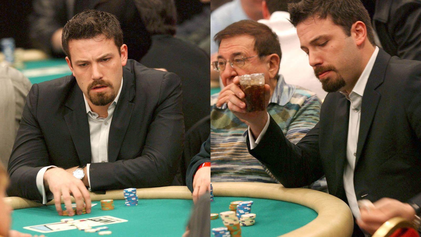Ben Affleck szenvedélyes kártyás hírében áll, aki leginkább a pókerért és a blackjackért (Huszonegyért) van oda. Azonban, még 2001-ben, amikor egy este súlyos dollárezreket vesztett, másnap szerencsejáték elvonóra feküdt be, hogy így próbálja meg úrrá lenni a játékfüggőségén. (Stewart Cook/Shutterstock)