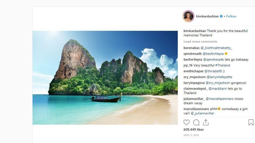 Kim Kardashian is lopott a Google Képekből, majd kiposztolta Instagramra. (Instagram/kimkardashian)