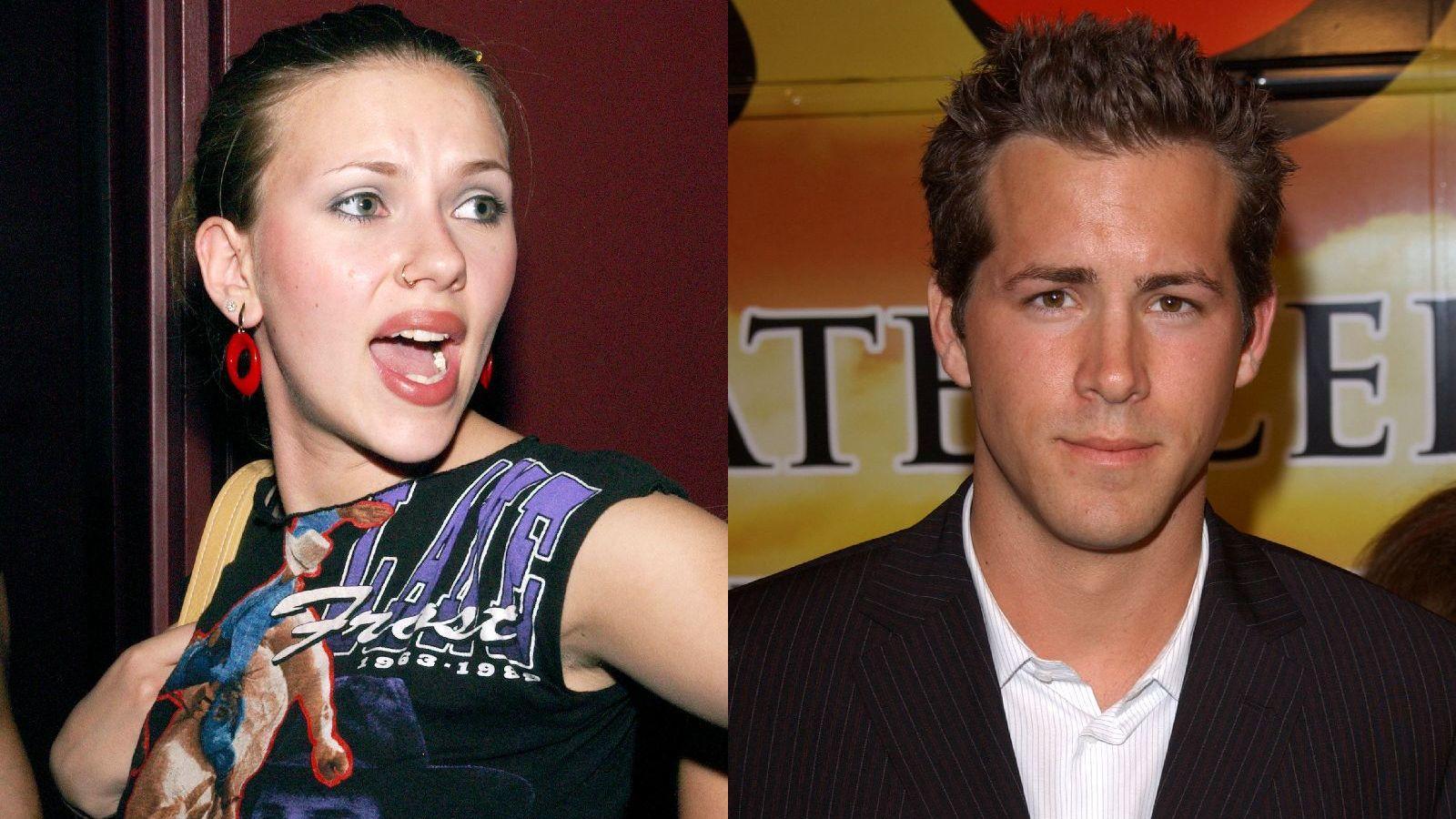 ...Scarlett Johansson. A csodaszép, bővérűségéről is ismert színésznő anno együtt járt... (Getty Images)