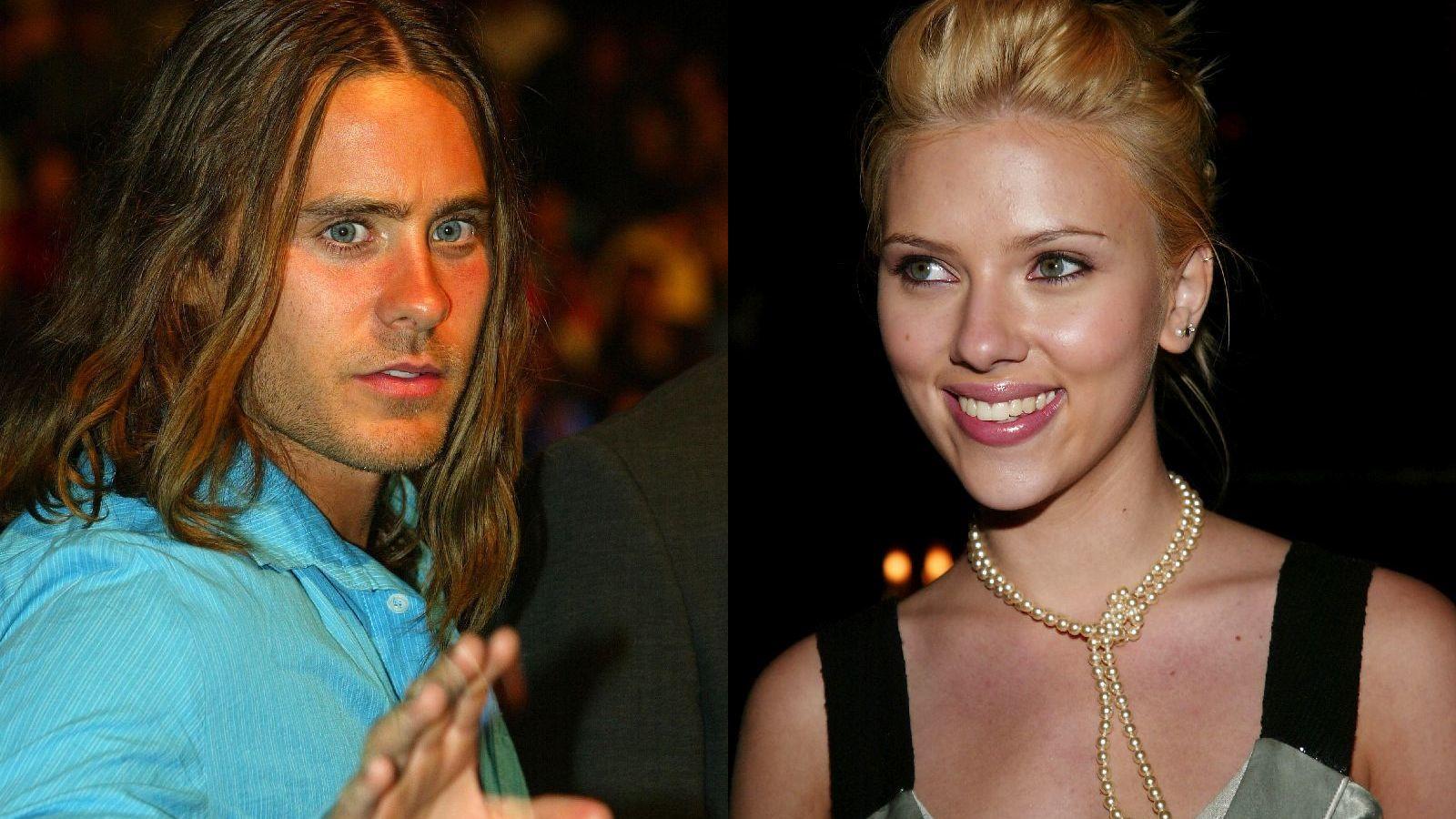 ...Jared Letóval, de a románc nem tartott sokáig. Jared mindig is imádta a szép nőket, hódításainak listáján szerepel például.. (Getty Images)