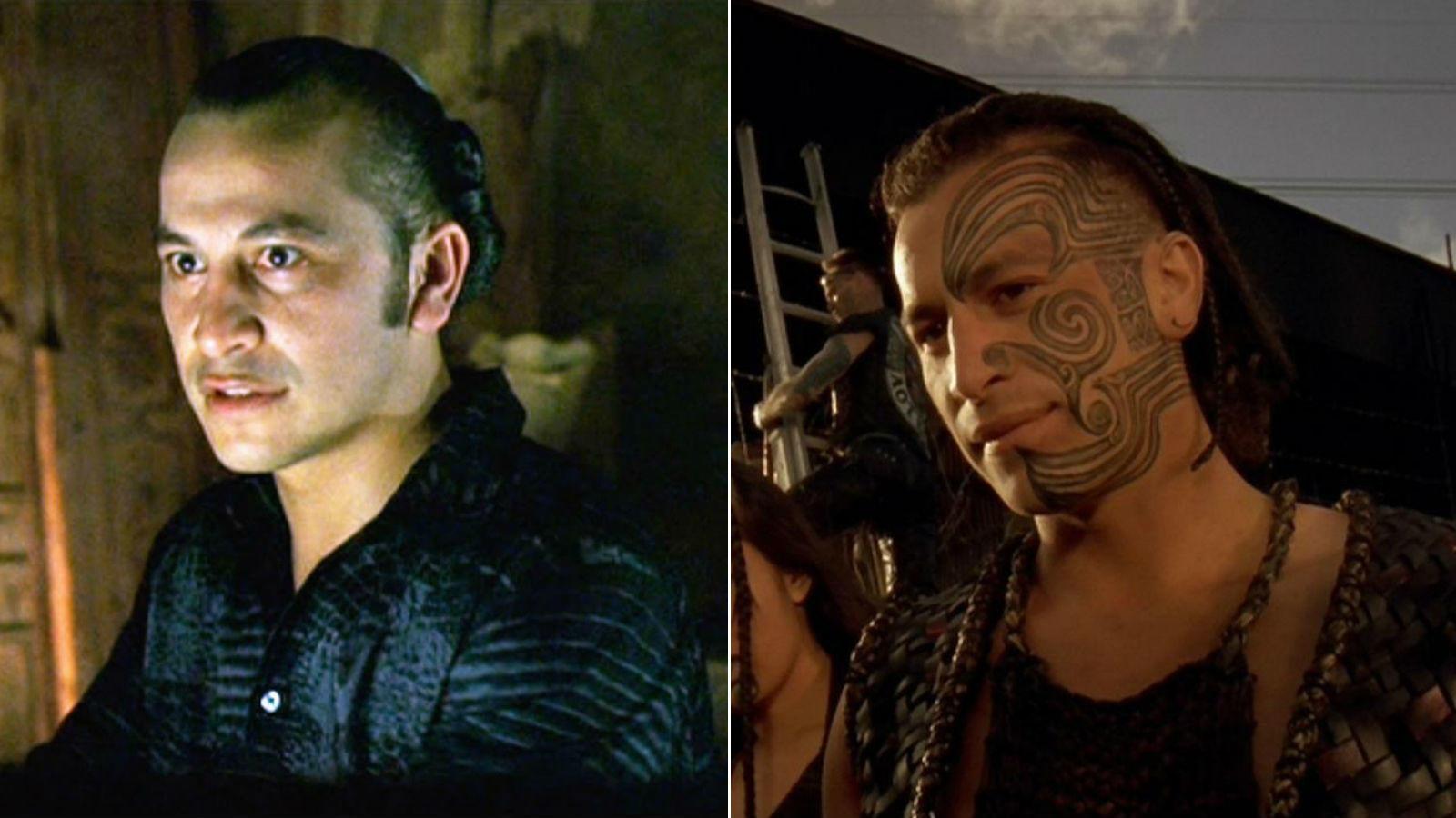 Julian Arahanga játszott még néhány kisebb szerepben a Mátrix után, de nem sokkal később átnyergelt a dokumentum műfajra, és most rendezőként készít fimeket. (Warner Bros./ Fine Line Features)