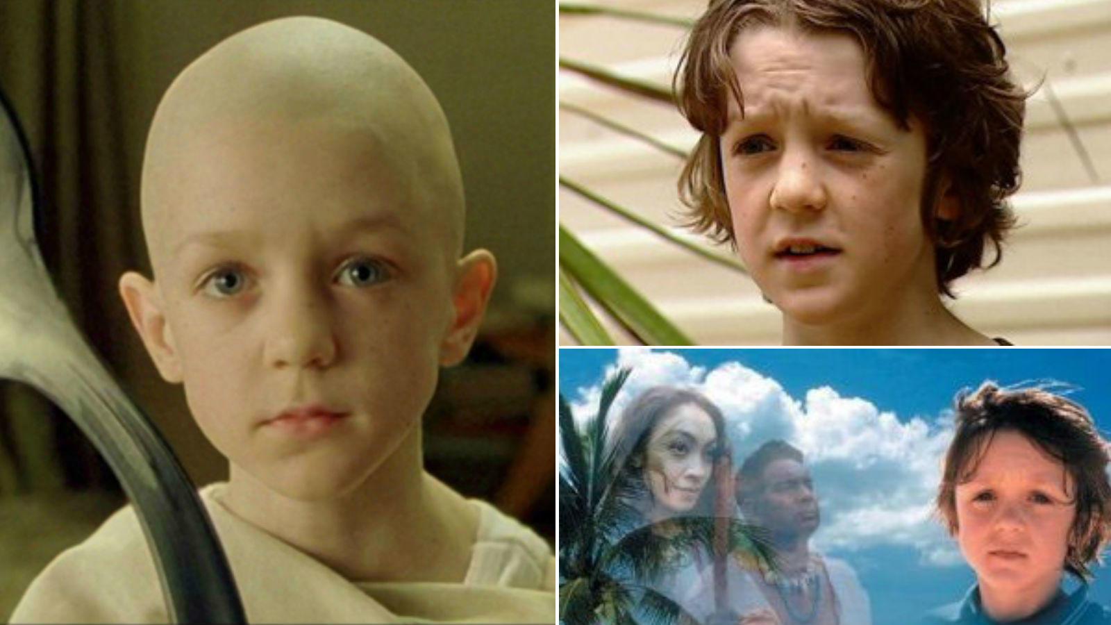 Neo az orákulumnál találkozik a kanalas kisfiúval, akit Rowan Witt alakított. Az azóta már felnőtt férfiává érett fiút csak kisebb szerepekben láthattuk, de ő volt a főszereplője a Twist Olivér legújabb kalandjai c. 2001-ben készült sorozatnak is. (Warner Bros./ Portman Global Ltd., Aquarius TV)