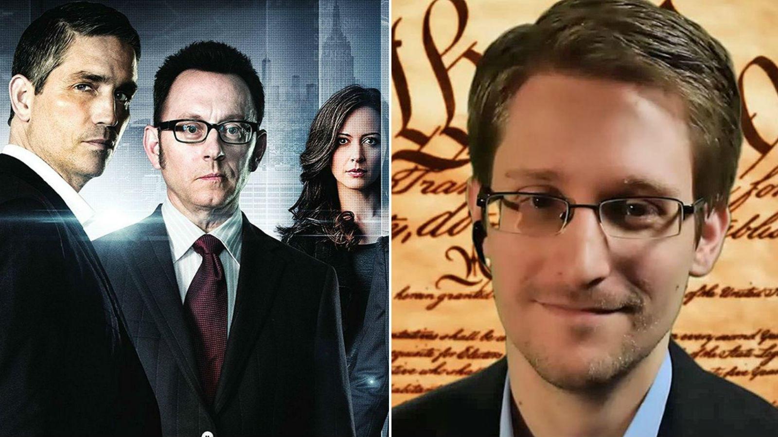"""Peck rájön, hogy cége nagy kaliberű, illegális megfigyeléseket tart. Titokban kiszivárogtatja ezt az információt az újságíróknak, minekutána elkezdi üldözni a kormány. Mindezt egy évvel az """"igazi"""", kísértetiesen hasonló Edward Snowdenes eset előtt adták a televíziók. (Warner Bros./ digitaltrends.com)"""