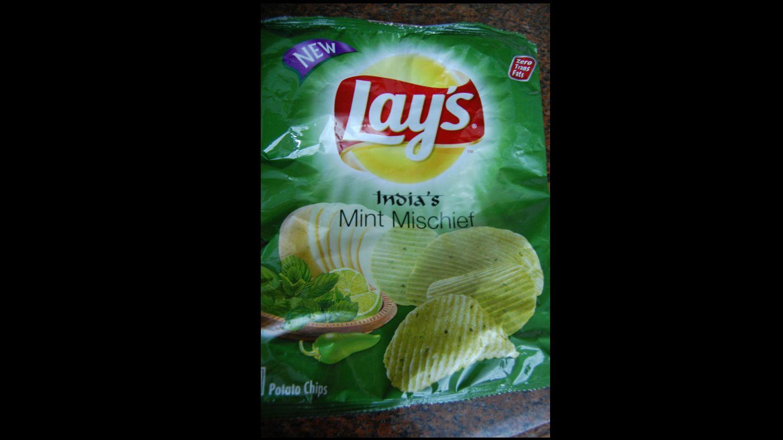 Mentolos Lay's, India