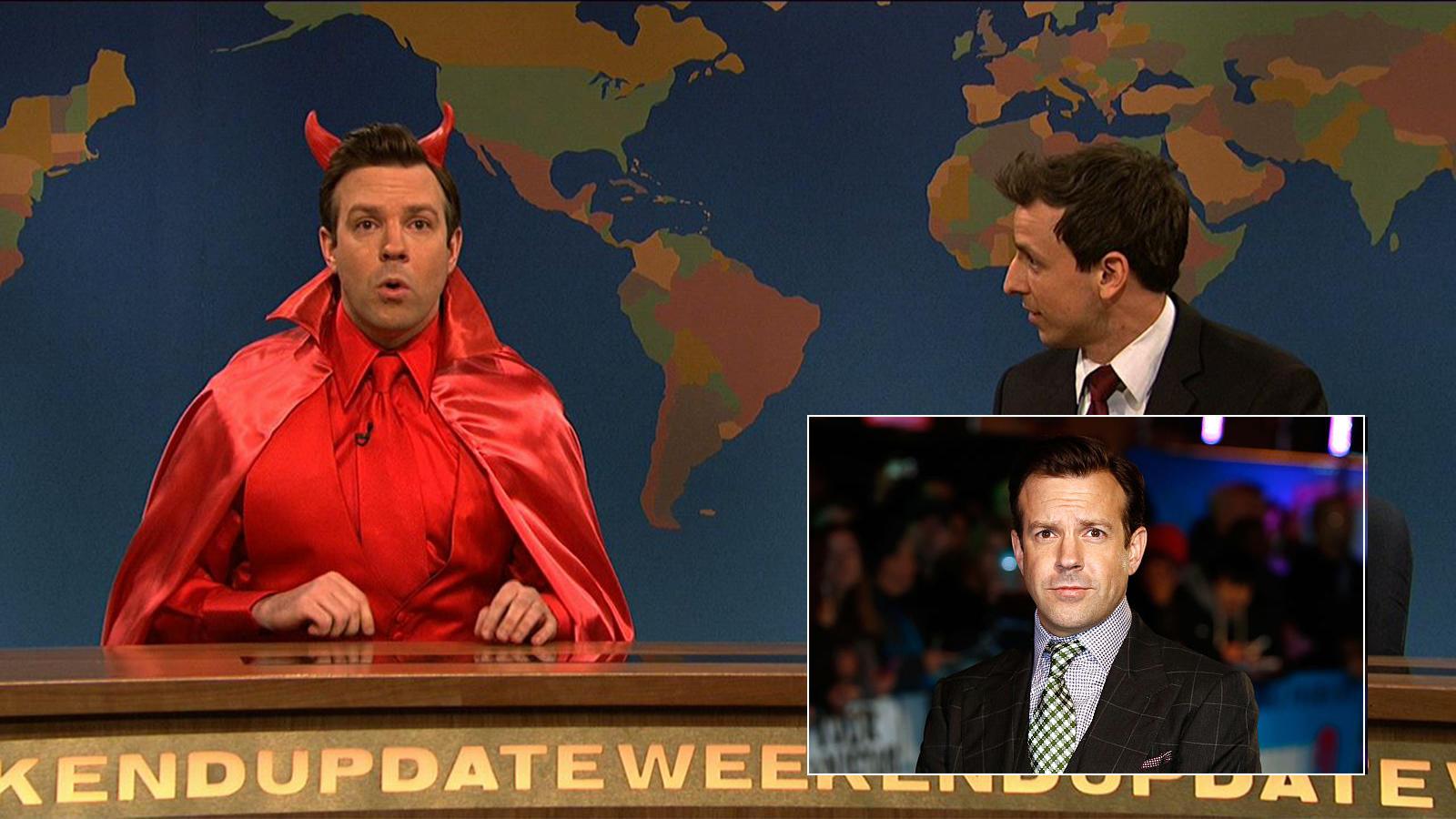 Jason Sudeikis a Saturday Night Live-ban hozta több ízben az alvilág urát, nem lehetett neki ellenállni. (NBC / Getty Images)