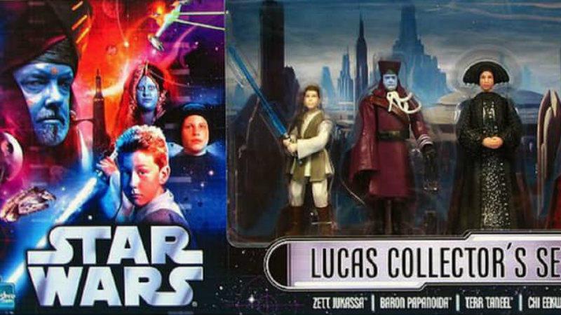 Egy valódi Star Wars gyüjtemény sem lehet teljes az alkotó és családja által az előzménytrilógiában megformált statisztafigurák nélkül. (Hasbro/ Disney)
