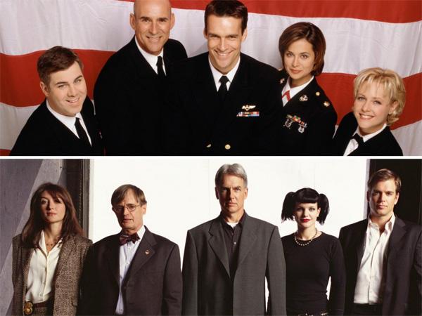 A bevezető rész a JAG sorozat részeként ment le még 2003-ban, két részletben.