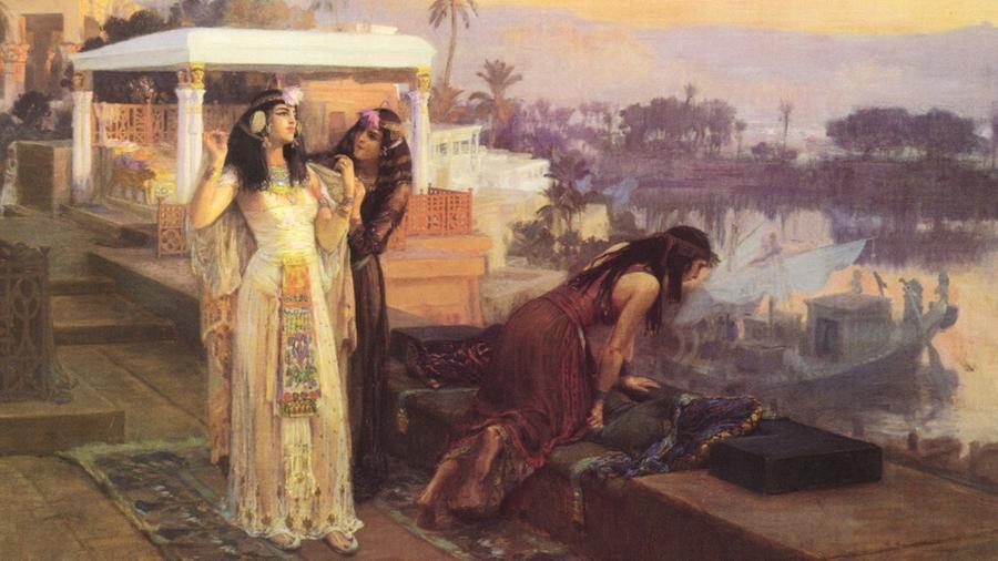 A Kr. e. 31-ben lezajlott actiumi csata után a korábban szebb napokat látott római hadvezér, Marcus Antonius és nyughatatlan szerelme, Kleopátra tudta, nem sok van hátra a földi pályafutásukból. Vereségüket követően bezárkóztak a fáraónő alexandriai palotájába, ahol féktelen halálváró bulikat rendeztek. A tivornyáknak Augustus megjelenése vetett véget, a későbbi császár érkeztére mindkét fél öngyilkosságot követett el. (Wikipedia)