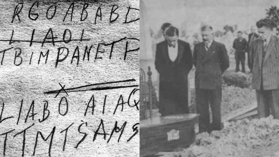 Az ismeretlen férfi holttestét 1948 decemberében találták meg a dél-ausztráliai Adelaide városka Somerton beach nevet viselő partszakaszán. A nyomozóknak azóta sem sikerült a férfit beazonosítani, és magyarázatot találni a halálára. Rengeteg teória látott napvilágot az esettel kapcsolatban, sokak szerint a férfi szovjet titkosügynök volt. (Wikipedia)