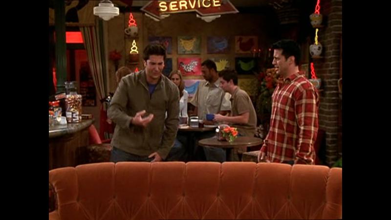 """A helyes válasz: Joey-val kapott össze, mert az """"véletlenül"""" megkérte Rachel kezét"""