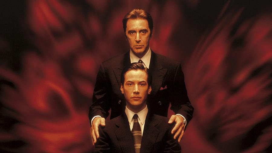 SPOILER-mentesen fogalmazva: amit el tudsz képzelni, az nagyjából meg is történik ebben a filmben. Al Pacino és Keanu Reeves szerelmeseinek kötelező alkotás. (Warner Bros.)
