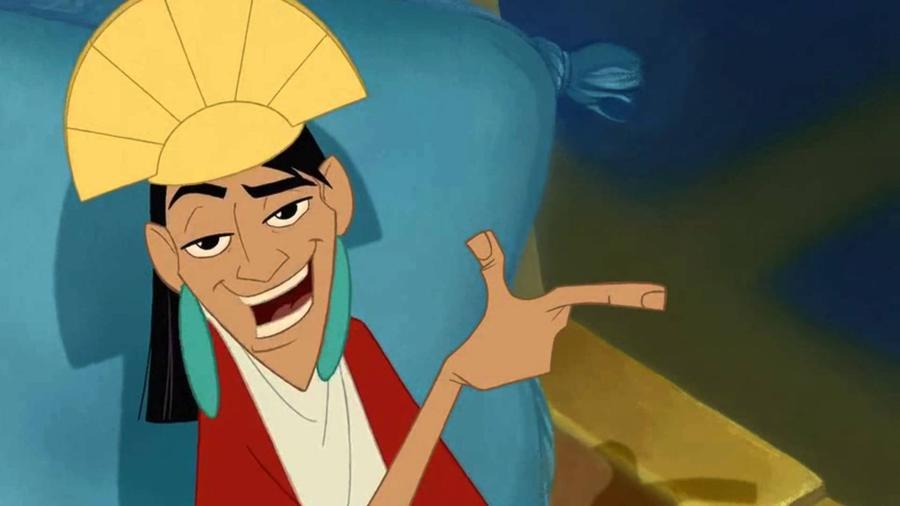 Egy méltán alulértékelt Disney-gyöngyszem. Az önimádó, a hatalmát és a gazdagságát élvező dél-amerikai uralkodót, Kuzcót udvari boszorkánya, a trónra áhítozó Yzma lámává változtatja, hogy aztán elinduljon a kaland és a személyiségfejlődés. (Walt Disney Animation Studios)
