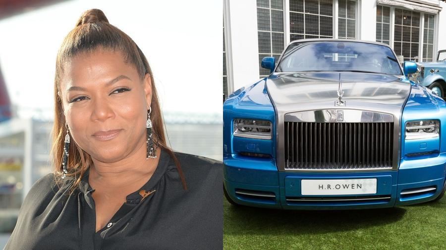 Rapper, színésznő, tévés műsorvezető, vállalkozó és kocsiimádó. Queen Latifah egészen addig, míg 2016-ban el nem lopták, egy Mercedes-Benz S63-mal furikázott. Hogy fájdalmán enyhítsen, beújított egy Rolls-Royce Phantom Drophead Coupéval, amely a gyárszalagról legurulva nagyjából háromszor annyiba kerül, mint a meglovasított Mercije. (Kristin Callahan/ACE Pictures/Shutterstock\ London News Pictures/Shutterstock)