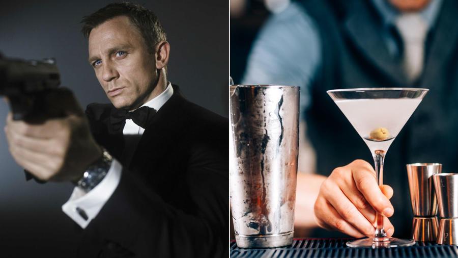 """Nehéz lenne megfelelőbbet találni a Vodka Martinihez, mint azt a színészt, aki épp az ital reklámarcának is számító 007-es ügynök aktuális alteregója. Craig karaktere ráadásul tökéletesen passzol James Bond legendás, """"rázva, nem keverve"""" mottójához. (REX/ Shutterstock)"""