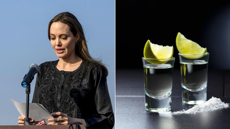 Vajon ki tudna jobban megtestesíteni egy tiszta feles tequilát jobban, mint Angie? Maga az ital ugyanis önmagában kevés, kell hozzá egy kis citrom és só is, hogy érezzük Mexikó perzselését. Pont mint Jolie-nál, személye körül kell mindig egy kis pletyka vagy épp valami botrány. (REX/Shutterstock)