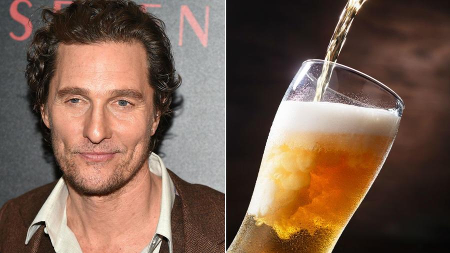 McConaughey roppant szórakoztató és tehetséges, így nem csoda, ha ő az egyik legkedveltebb férfi Hollywoodban. Felfrissítő, hideg és mindig hangulatba hoz, épp, mint egy jó hideg sör. (REX/Shutterstock)