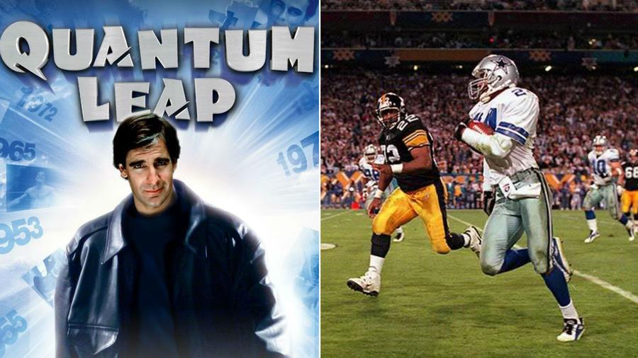 A második évad egyik epizódjában Sam egy középiskolai amerikaifoci-játékos testébe érkezik, akinek egy barátját kell megállítania. Egy ponton a karakter az 1996-os Super Bowl XXX-et nézi, amelyben elmondják, hogy a Steelerek három ponttal vonszolják magukat. Hat évvel később, az igazi Super Bowl XXX-en pontosan így történt... (NBC/ totalsports.com)