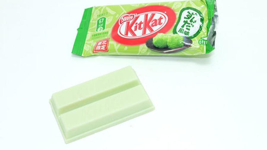 Edamame - és szójababos Kit Kat, Japán
